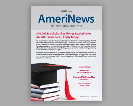 Cover photo of the winter 2020 edition of AmeriNews
