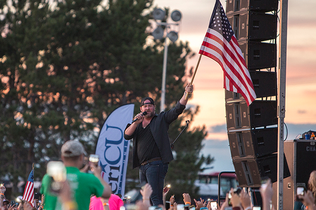AmeriCU Salute to the Troops Tribute Concert at Mountainfest 2016