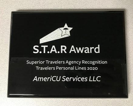 photo of the S.T.A.R award