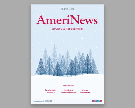 AmeriNews Cover Winter Trees