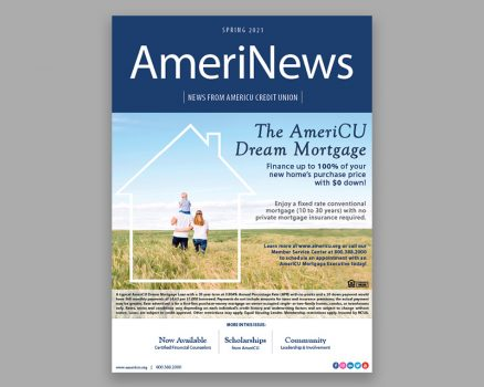 Cover of AmeriNews Spring 2021